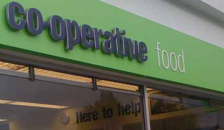 co-operative food sign cobden bridge store