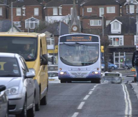 first no 7 bus
