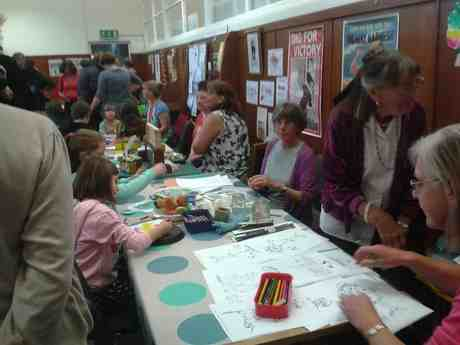 library autumn fayre
