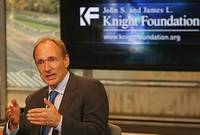 sir tim berners-lee under cc2 by Knight Foundation