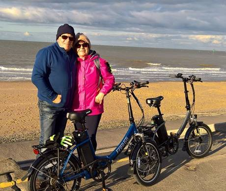 FreeGo Electric Bike Owners - Carol and Phil Smarts folders - Love our folders x 2 460