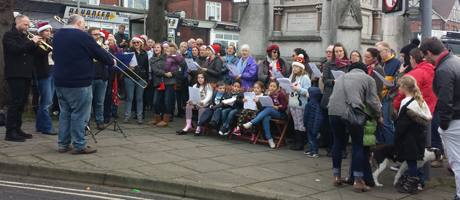 christmas in the triangle 2016 carol singers