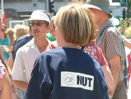 NUT logo on back