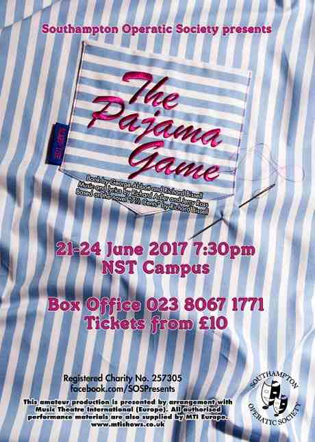 The Pajama Game flyer460