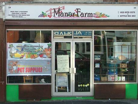 manor farm shop front 460