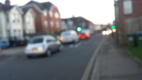 priory road cars blurred