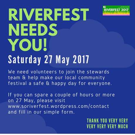 riverfest needs you