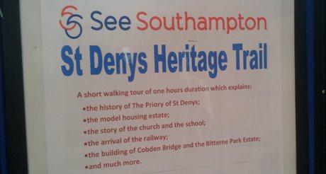 st denys tour poster
