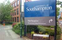 university of southampton sign
