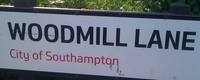 woodmill lane sign