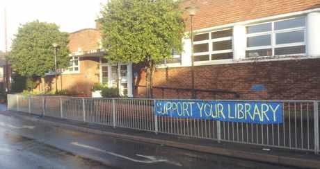 cobbett rd library banner sun