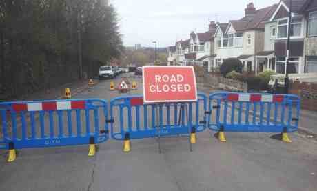 copsewood carriageway collapse