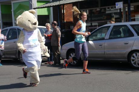 marathon riverside triangle fancy dress bear