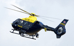 West Midlands Police Helicopter under CC2 by WMP