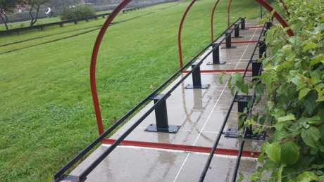 miniature railway hoops