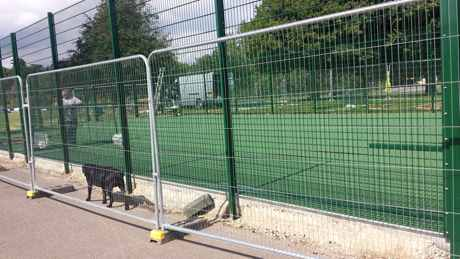 muga near completion